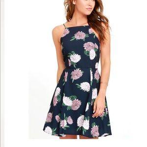 Keepsake Navy Floral dress